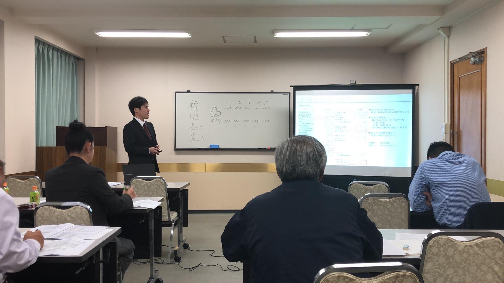 【宇都宮エリア/コンセーレ】経営者向け財務セミナー終了